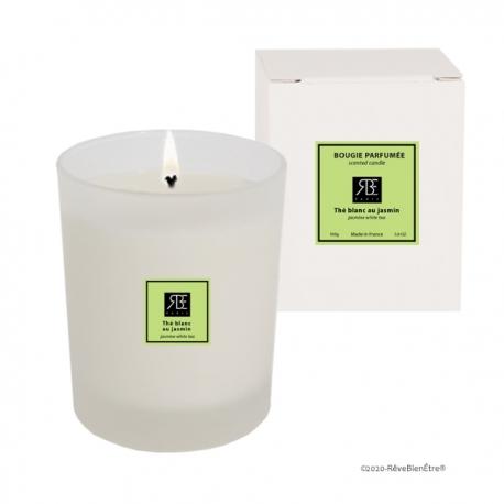 Bougies Parfumées Thé Blanc Jasmin