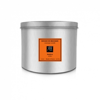 Bougie de Massage Ambre